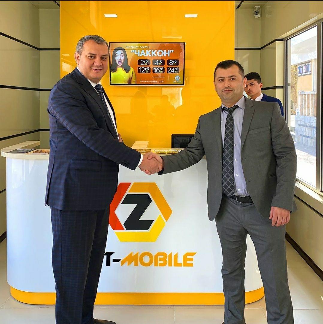 ZET-MOBILE продолжает расширять розничную сеть и открыл 2 новых офиса обслуживания в г. Худжанд.