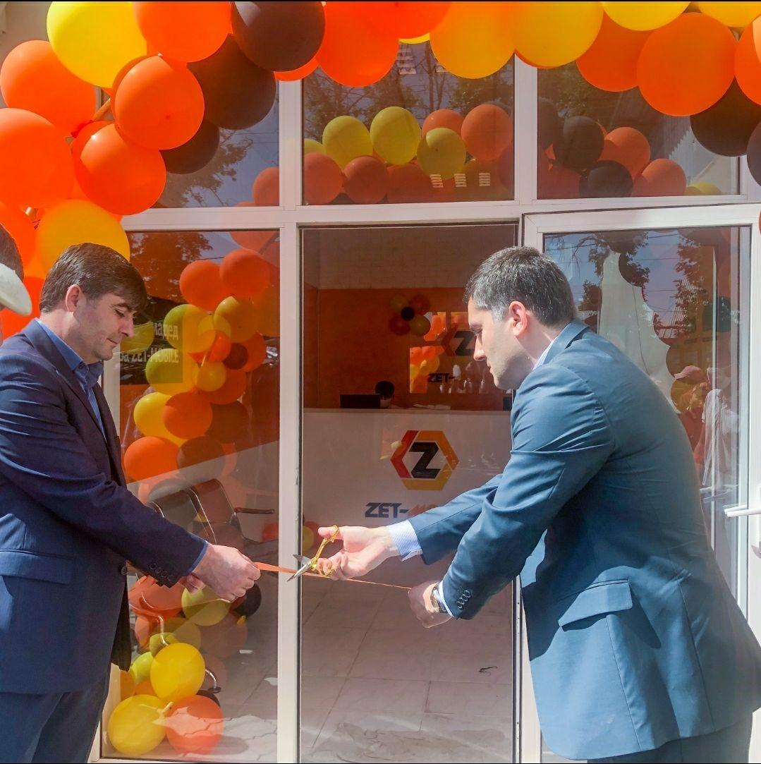 ZET-MOBILE открыл еще 3 новых офиса обслуживания в Хатлонской области.  ⠀